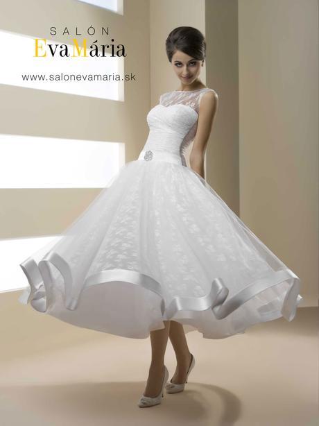 svadobné retro šaty - nové, real foto - na mieru, 38