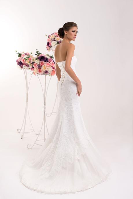Svadobné šaty morská panna - na mieru, 34