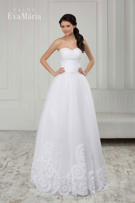 Svadobné šaty - real foto - na mieru, 40