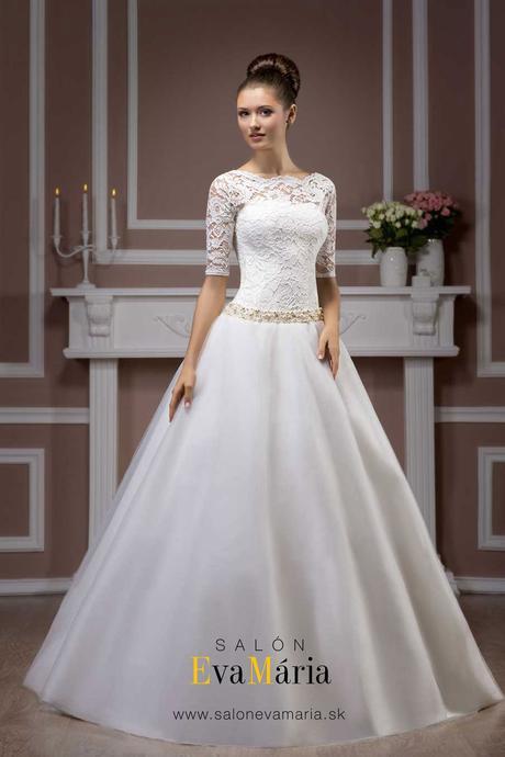 Svadobné šaty s čipkou- na mieru - real foto, 38