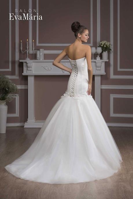 Svadobné šaty s kvetmi - real foto - na mieru, 36