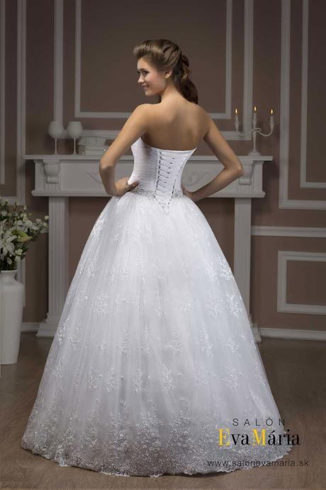 Svadobné šaty šité na mieru - nové, 36