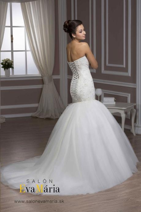 Svadobné šaty šité na mieru - nové, 38