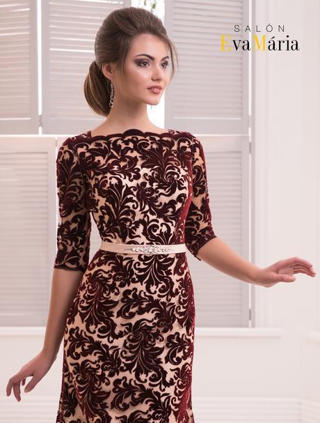 Veľkolepé spoločenské šaty s viazačkou na chrbte, 36
