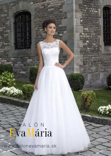 Značkové svadobné šaty s veľkou sukňou - na mieru , 36