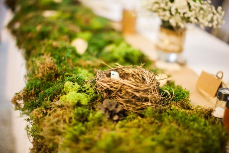 Komplet prírodná svadobná výzdoba téma Vintage les,