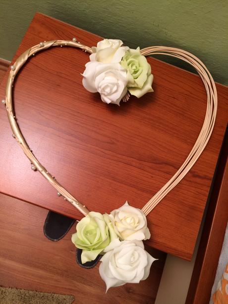 Srdce na auto nevěsty,