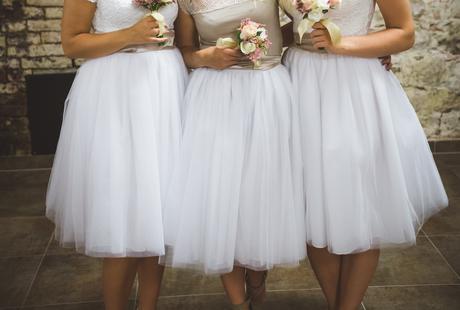 Tutu družičkovské sukně, 38