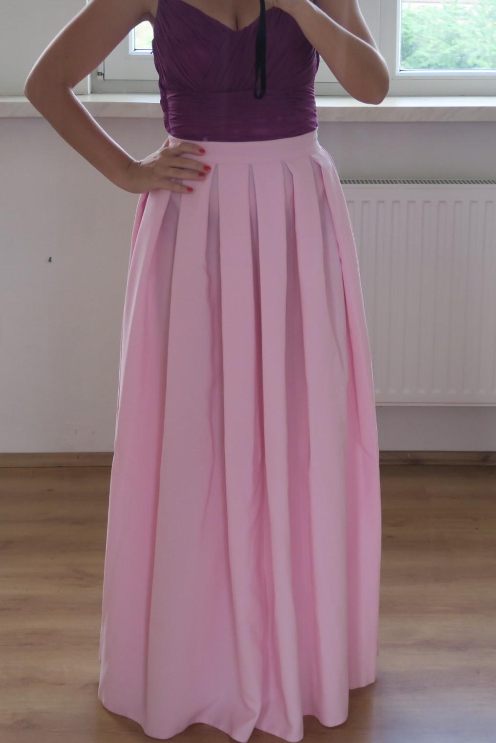 Spoločenská sukňa- rezervovaná 2cf37c55411