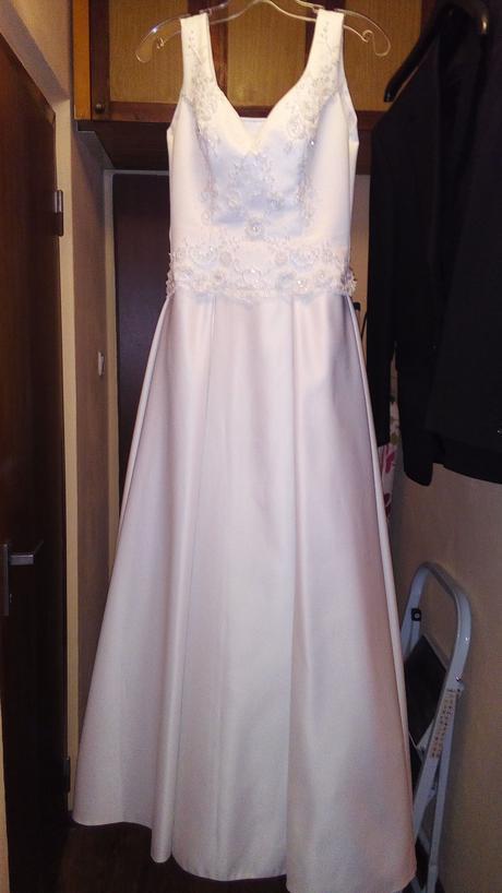 Svadobné korzetové šaty, 40