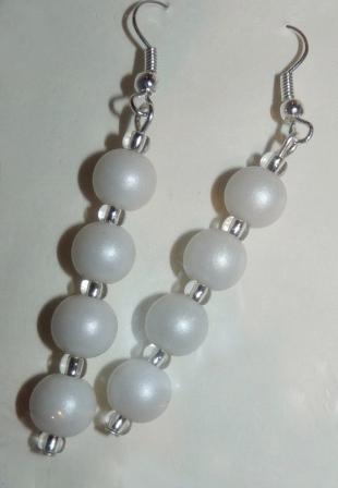 biele perly,