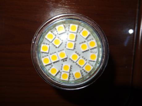 LED žiarovka GU10,