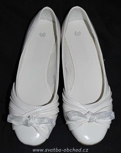 Bílé balerínky (č.02), 36