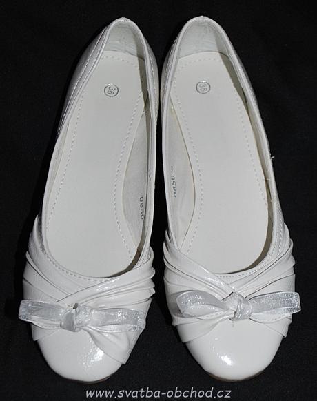 Bílé balerínky (č.02), 37