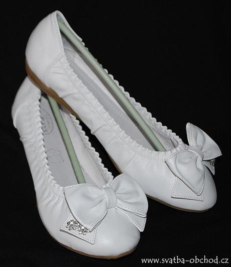 Botičky svatební - balerínky (č.15), 37