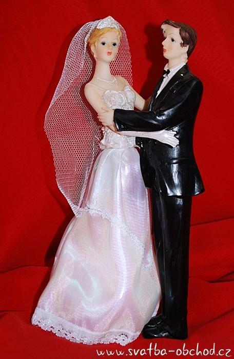 Figurka na svatební dort (č.64),