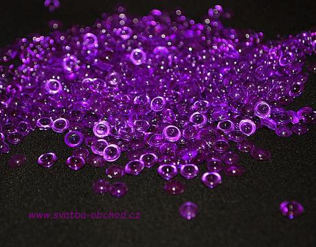 Kapky rosy - sytě fialové (č. 06),