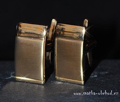 Knoflíčky - zlatá barva (č. 04),