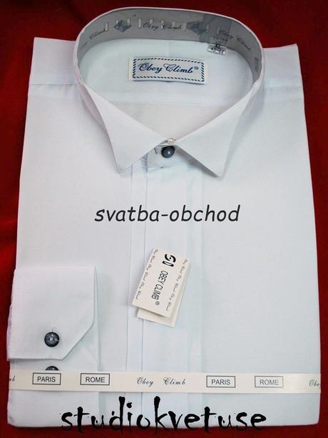 Košile - frakovka - bílá, 40