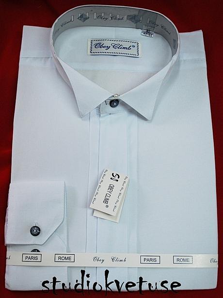 Košile - frakovka - bílá (č. 01), 46