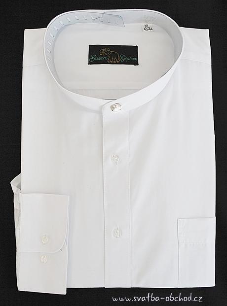 Košile se stojáčkem (č.04), 46