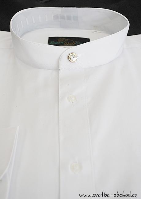 Košile se stojáčkem (č.04), 48