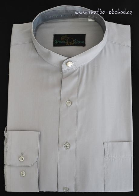 Košile - stříbrnošedivá (č.05), 46