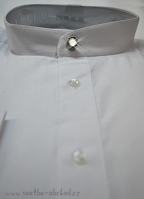 Košile - stříbrnošedivá (č.05) , 48