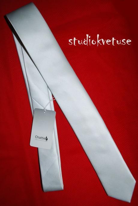 Kravata - bílá (č. 107),