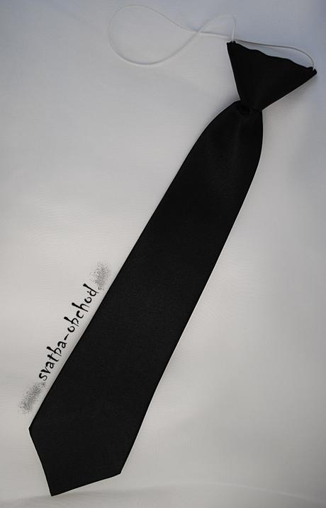 Kravata - černá (č. 19),