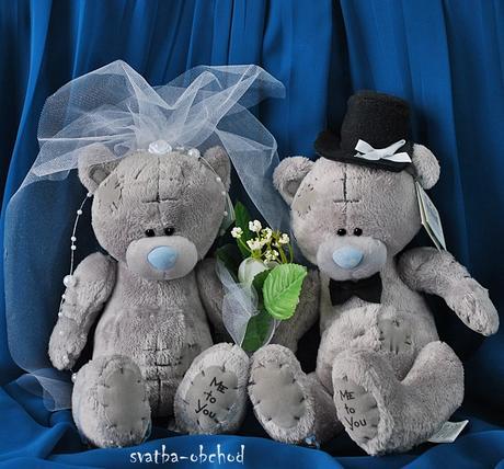 Medvědi - modrá + modrý (č.15),
