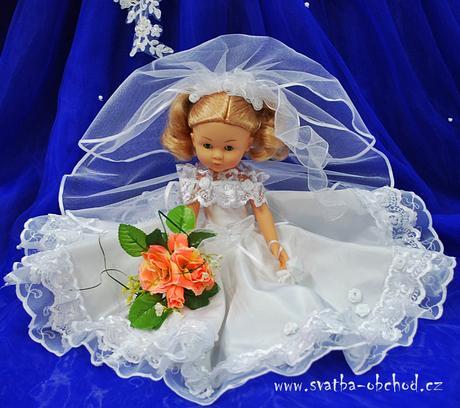 Panenka svatební (č.08) - na objednávku ,