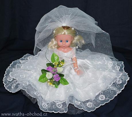Panenka v bílých šatičkách (č.12) - skladem,