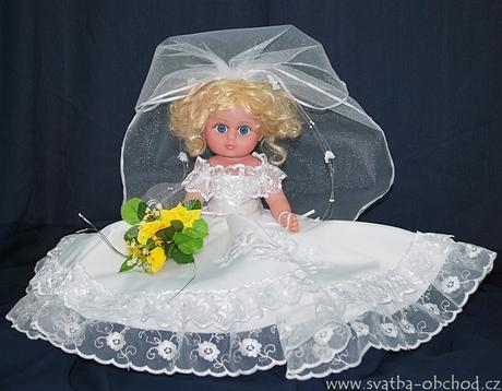 Panenka v bílých šatičkách (č.20) - skladem,