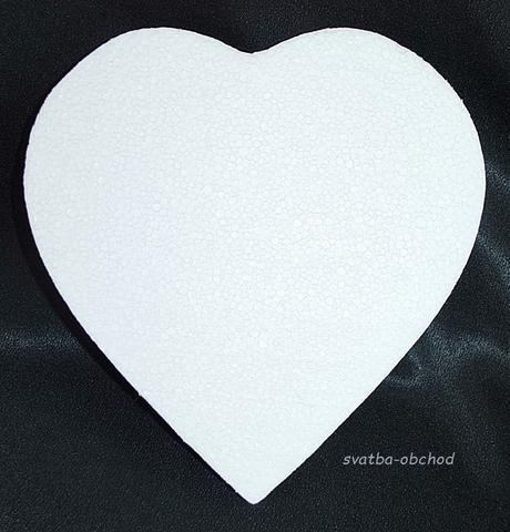 Polystyrenové srdce (č.2),