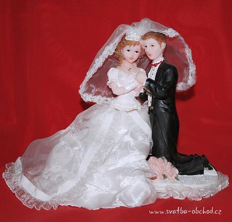 Postavičky na svatební dort (č.27),