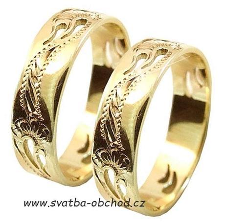Snubní prsten A8 - stříbro,