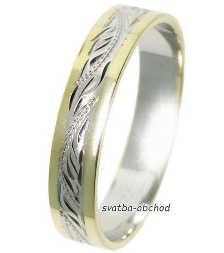 Snubní prsten B74,