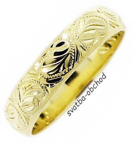 Snubní prsten P5R8,