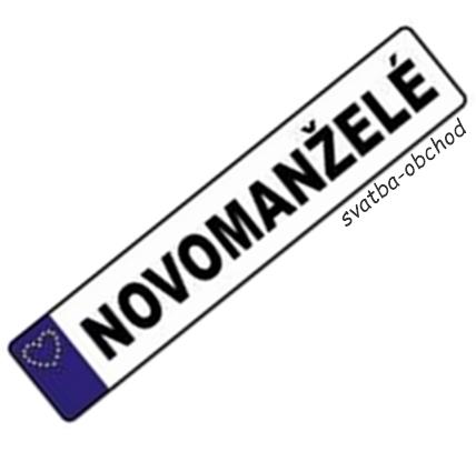 SPZ - EU - ženich,