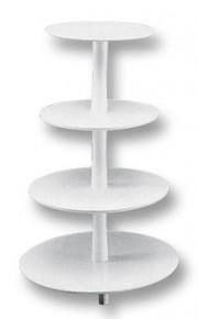 Stojan - čtyři patra (středový sloup),