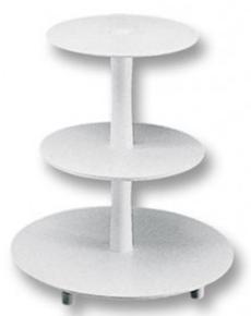 Stojan - tři patra (středový sloup),