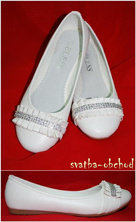 Svatební botičky - bílé (č.05), 37