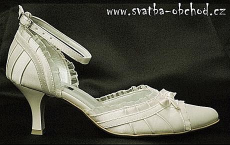 Svatební botičky - šampáň (č.13), 35