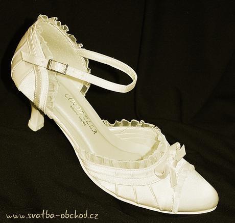 Svatební botičky - šampáň (č.13), 38