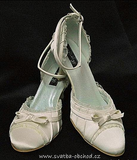 Svatební botičky - šampáň (č.13), 40