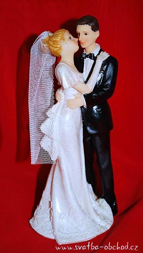 Svatební dortík - figurka (č.34),