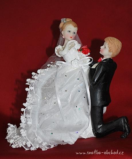 Svatební figurka (č.43),