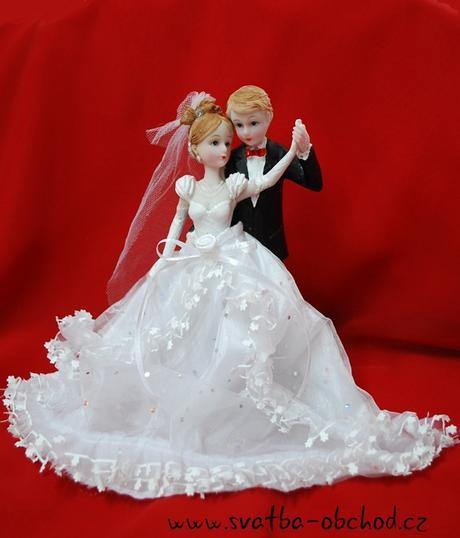 Svatební figurka (č.46),