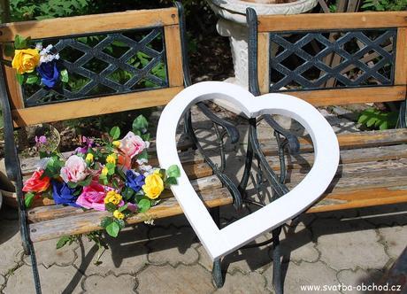 Velké polystyrenové srdce (č.3),
